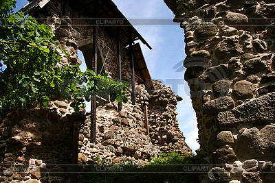 Ruins of castle in Karksi-Nuia | High resolution stock photo |ID 3087610