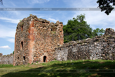 Ruins of castle in Karksi-Nuia | High resolution stock photo |ID 3087611