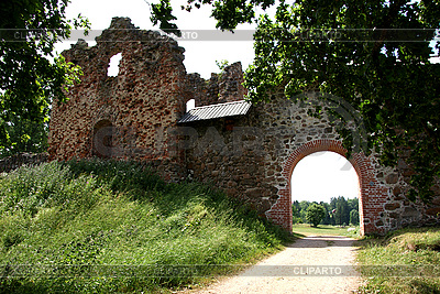 Ruins of castle in Karksi-Nuia | High resolution stock photo |ID 3087612