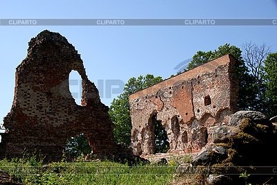 Ruins of castle in Viljandi | High resolution stock photo |ID 3087620