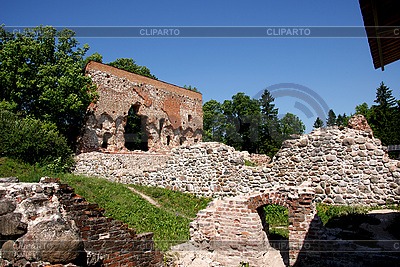 Ruins of castle in Viljandi | High resolution stock photo |ID 3087621