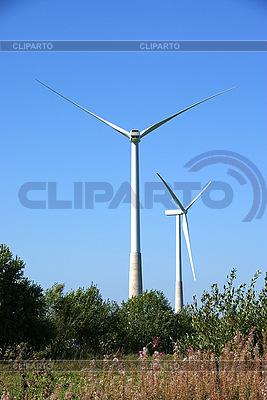 Windräder | Foto mit hoher Auflösung |ID 3087670