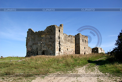 Ruins of Toolse castle | High resolution stock photo |ID 3087686