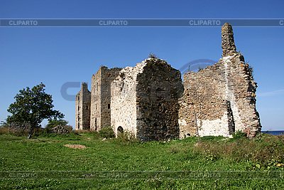 Ruins of Toolse castle | High resolution stock photo |ID 3087691