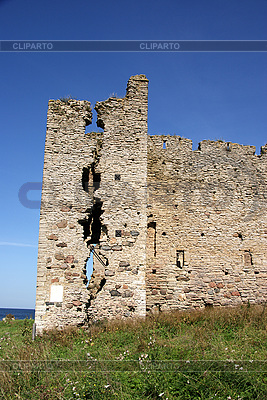 Ruins of Toolse castle | High resolution stock photo |ID 3087696