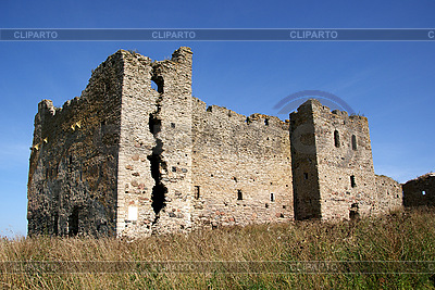 Ruiny Toolse zamku   Foto stockowe wysokiej rozdzielczości  ID 3087697
