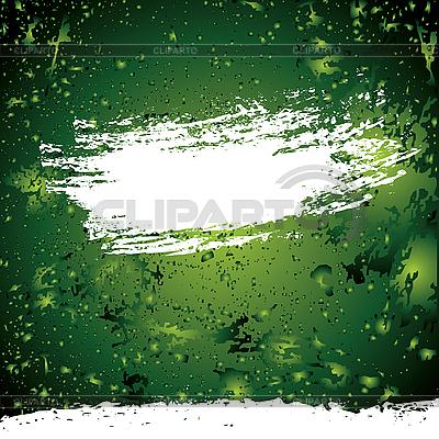 Grüner Grunge-Hintergrund | Stock Vektorgrafik |ID 3088535