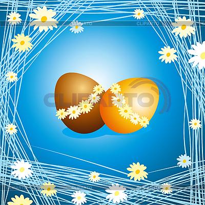 复活节彩蛋 | 向量插图 |ID 3088596