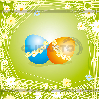Easter eggs | Stock Vector Graphics |ID 3088598