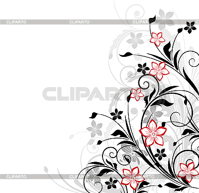 Floral background | Stock Vector Graphics |ID 3083625