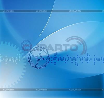 TECHNO风格的抽象背景   向量插图  ID 3109010