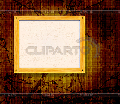 Old wooden frame | Stock Vector Graphics |ID 3163461