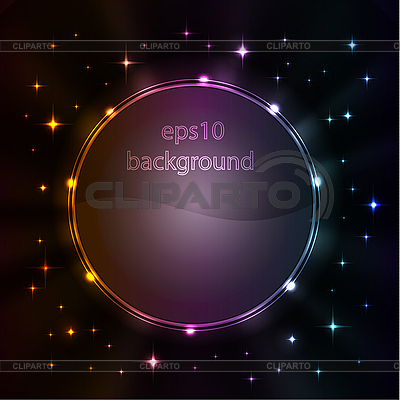 Stylized abstract background with glowing elements  | Stock Vector Graphics |ID 3169358