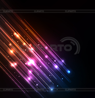 Stylized abstract background with glowing lines | Stock Vector Graphics |ID 3169380