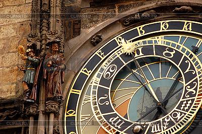 Zegar astronomiczny w Pradze | Foto stockowe wysokiej rozdzielczości |ID 3106078