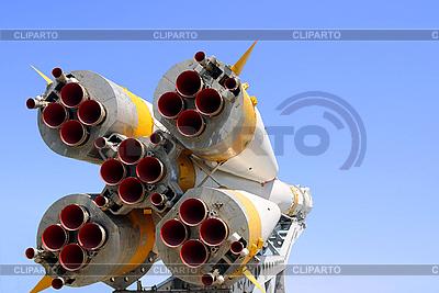 Dysze Statek kosmiczny Sojuz | Foto stockowe wysokiej rozdzielczości |ID 3106080