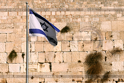 Waiving Flag of Israel | High resolution stock photo |ID 3106097