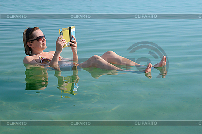 In the Waters of Dead Sea | High resolution stock photo |ID 3106115