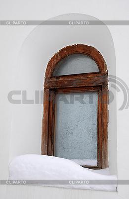 Frosty Window of Old Orhtodox Chapel | 높은 해상도 사진 |ID 3106341