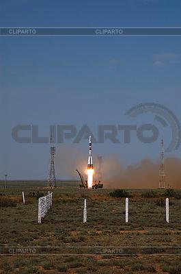 소유즈 TMA-15 우주선 발사 | 높은 해상도 사진 |ID 3107449