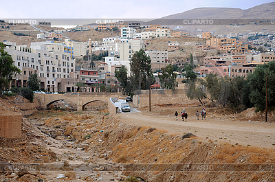 요르단의 페트라의 마을 | 높은 해상도 사진 |ID 3118444