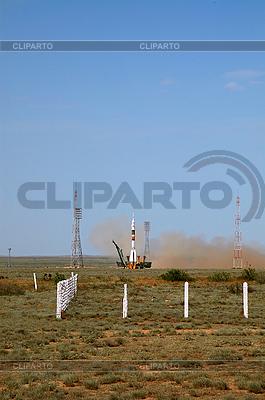 Sojus TMA-15 Start | Foto mit hoher Auflösung |ID 3119163