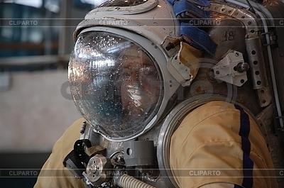 US Astronaut Michael Barratt po treningu na HYDROLAB | Foto stockowe wysokiej rozdzielczości |ID 3119170