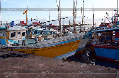 Рыбного порта в Шри-Ланке | Фото большого размера |ID 3185291