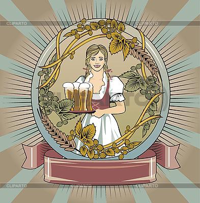 Etykieta piwa | Stockowa ilustracja wysokiej rozdzielczości |ID 3088747