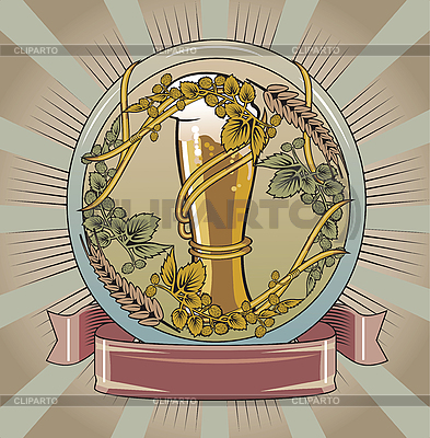 Beer label | High resolution stock illustration |ID 3088750