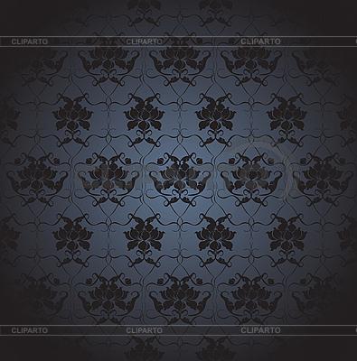 Ciemny kwiatów | Klipart wektorowy |ID 3094304