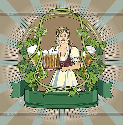 맥주 라벨 | 벡터 클립 아트 |ID 3094320