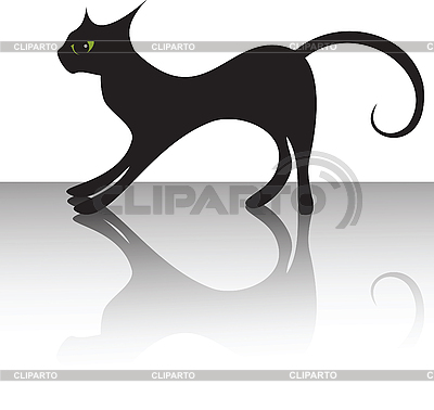Black cat | Stock Vector Graphics |ID 3168310