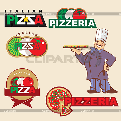 Pizza logo | Stock Vector Graphics |ID 3221517