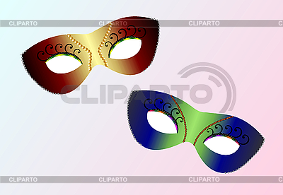 Carnival masks | Stock Vector Graphics |ID 3083983