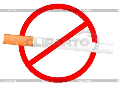 No Smoking sign | Klipart wektorowy |ID 3084021