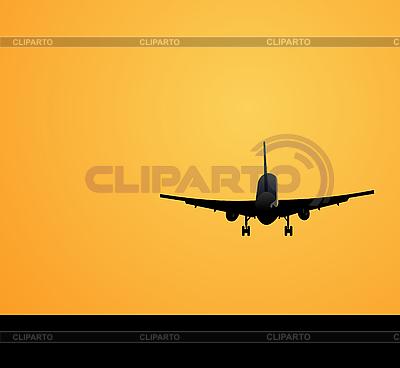 Lądowanie samolotu | Klipart wektorowy |ID 3084135