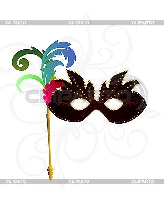 Carnival or theater mask | Stock Vector Graphics |ID 3085209