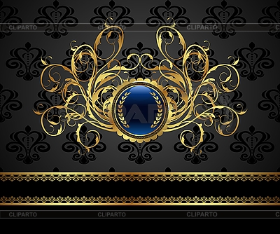 Gold vintage frame | Stock Vector Graphics |ID 3085950