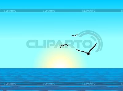 Sea landscape | Stock Vector Graphics |ID 3086570
