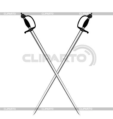 两银子剑 | 向量插图 |ID 3086722