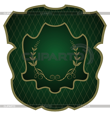 Luxurious gold-framed labels | Stock Vector Graphics |ID 3086910