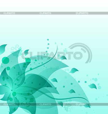 Abstract vintage floral background with copy space   Stock Vector Graphics  ID 3283686