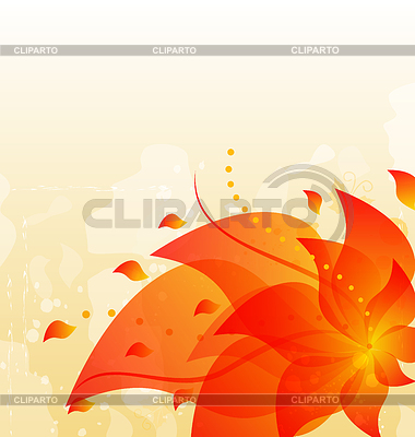 Abstract floral background with copy space   Stock Vector Graphics  ID 3283692