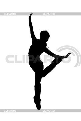 Sylwetka tancerza | Stockowa ilustracja wysokiej rozdzielczości |ID 3104921