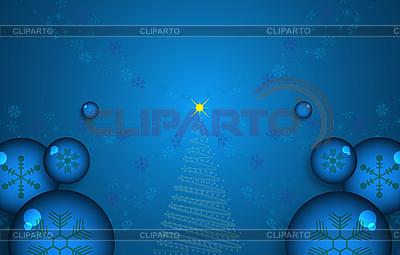 Weihnachtshintergrund mit Schneeflocken | Illustration mit hoher Auflösung |ID 3089263