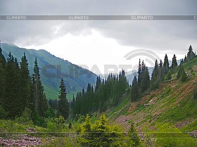 Mountain landscape Trans-Ili Alatau   High resolution stock photo  ID 3094538