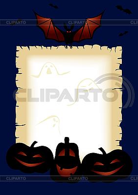 Halloween frame   Stock Vector Graphics  ID 3096286