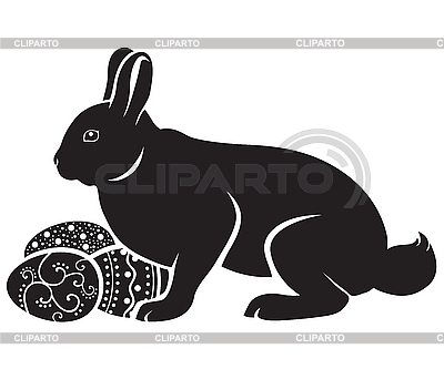 Easter bunny and eggs | Stock Vector Graphics |ID 3129273