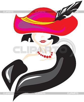 Elegante Dame | Stock Vektorgrafik |ID 3156326